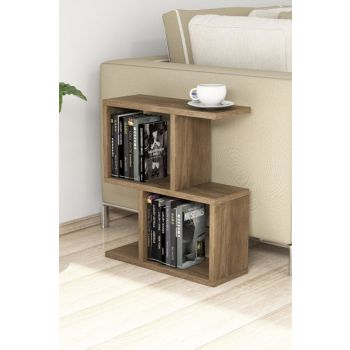 Zet Walnut Side Table PUAS1042