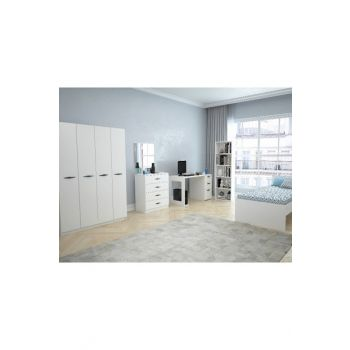 Texas 4 Teen Room (Glossy White) 123TEKSAS005