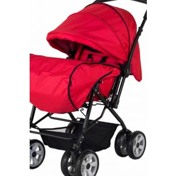 Sunny Baby Star Two Way Baby Stroller - Red / 286