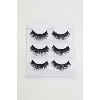 3 Pairs of False Eyelashes