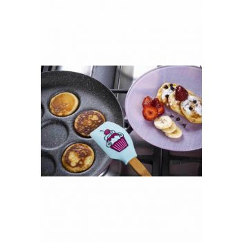 Cherry Color Granite Pancake Pan KONT1417PT