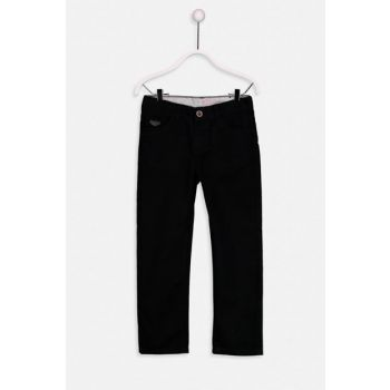 Boys' Gabardine Trousers 9S3888Z4