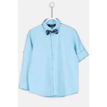Boy's Shirt and Bow Tie 9S2607Z4