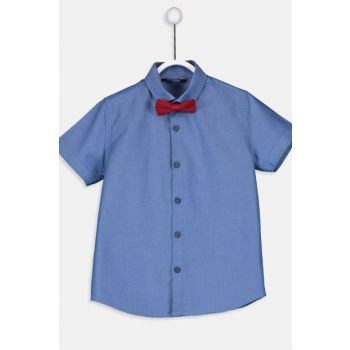 Boy's Shirt and Bow Tie 9SG622Z4