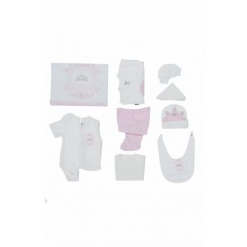 Girl Baby Hospital Outfit 10s Duvet Set Princess Miniworld 14279 MINI14279PEMBE