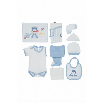 Baby Boy Hospital Outlet 10th Layer Set Blue T588 BBBKT588MAVI
