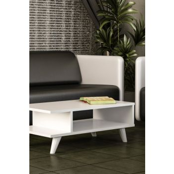Titus Medium Coffee Table White 8681506222275