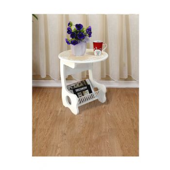 Fiskos Newsstand Side Table Flower Pattern EM5184