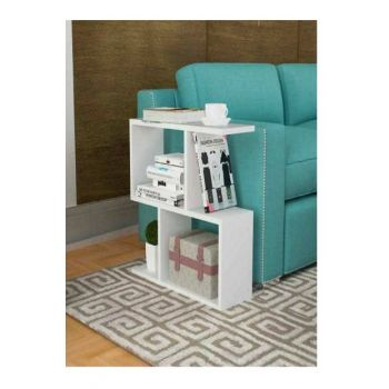 Ae-1037 Delfina Side Table White DLFN123