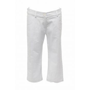 White Girls Children Pants 81Z4VYZ02 81Z4VYZ02