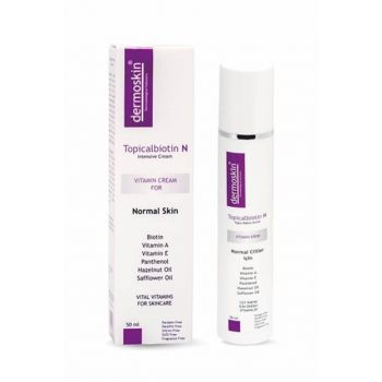 Intensive Care Cream For Normal Skin - Topicalbiotin N 50ml