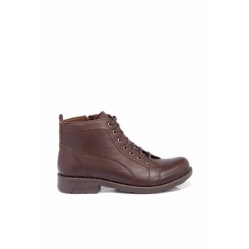 Genuine Leather Coffee Leather Men Bot53680A42 E18K1BT53680