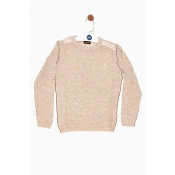 Beige Boys Kids Sweaters 18SS0NB3405 18SS0NB3405