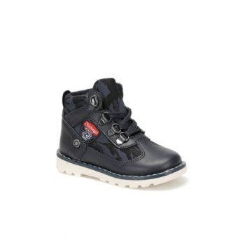 Navy Blue Boys Boot & Bootie 000000000100331562