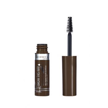 Eyebrow Gel - Brow This Way Brow Styling Gel with Argan Oil Medium Brown 3614223345632