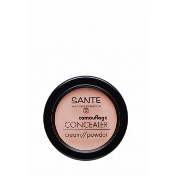 Organic Concealer Cream / Powder - 01 Beige - 3,4 g 43264