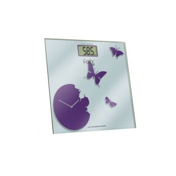 Weighing Digital Glass Bathroom Scale Purple Fl594 FL594