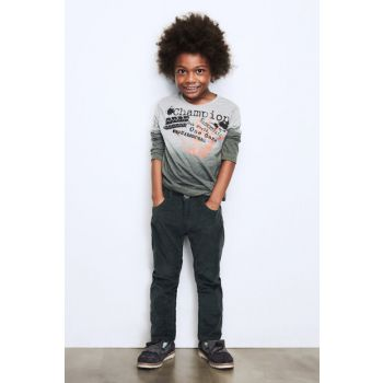 Boys Green Trousers 17FW1NB3212 17FW1NB3212