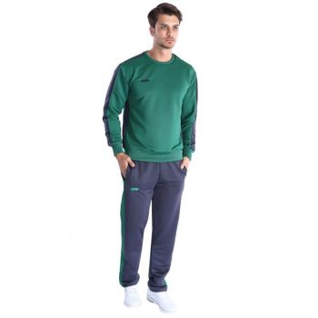 Men's Tracksuit Team - Teamtra Men's Green Tracksuit - 201614-0YA