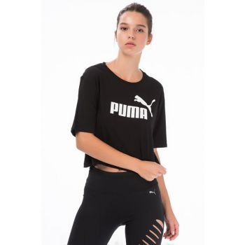 Women's T-shirt - Essentials + Cropped Tee - 85259401