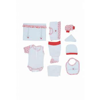 Girl Baby Hospital Outlet Newborn Set 10lu 0-3 Months Red Zk562 NENNYZK-562KIRM