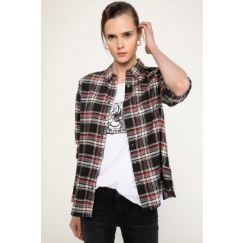 Women's Checkered Shirt I9768AZ.18AU.BR80