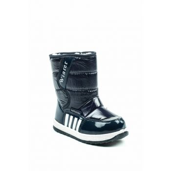 Navy Blue Children's Boots 1055.P.073