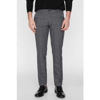 Men's Gray Trousers 9KAM49051NW 9KAM49051NW