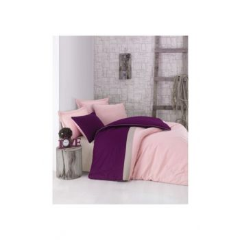 Cotton Box Plain Sport Double Duvet Cover Set 1184578035052