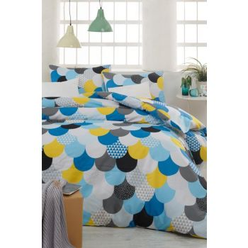 Double Easy Iron Duvet Cover Set Mint EP-007194