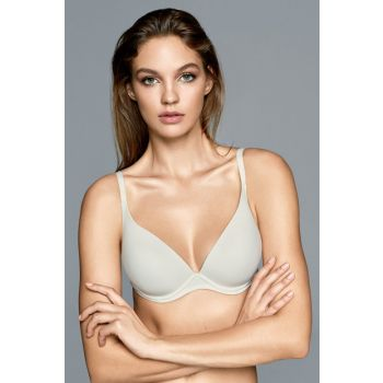 Women's Ecru Basic Soft Cup Push Up / Padded Bra 2223MINI17B_052