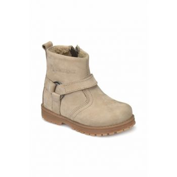 Boys' Biker Boots Sand Color