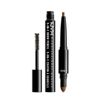 3 in 1 Eyebrow Pencil - 3 in 1 Brow Brunette 800897078898