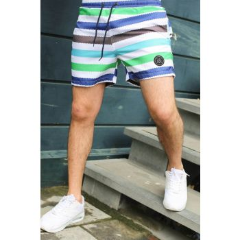 Men's Green Shorts - 2945