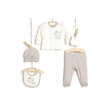 Baby Boy Hospital Outlet 5 Pcs Set 5125 AZZ005225EKRU