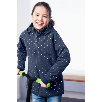 Girl Softshell Coats Gray 96084