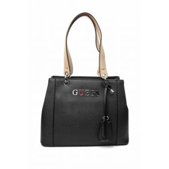 Women's Black Shoulder Bag 0GUEW2018001