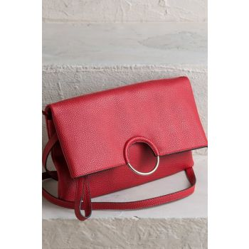 PEROLTA Red Women's Handbags 18KECEL-50