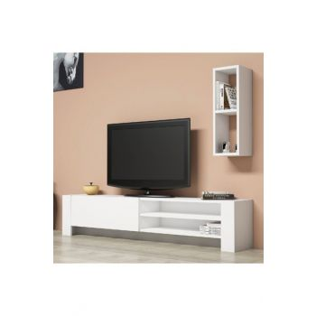 Pina White Tv Unit PUTV4036