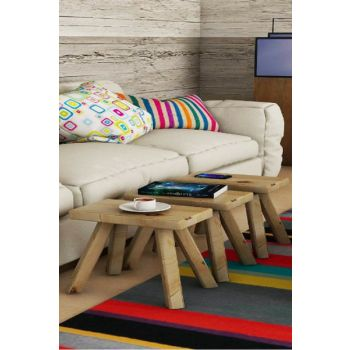 Birch Stool Coffee Table PUSE3022