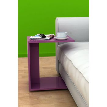 Multi-Purpose Wheeled C Seat Bench - Purple SHP-09-MR-1
