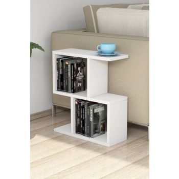 Zet White Side Table PUAS1041