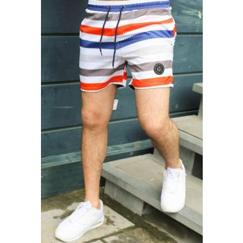 Men's Red Shorts - 2945