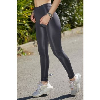 Women's Gray Sleeves Disco Leggings 9KXK5-40684-03