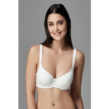 Women's Ecru Roll Up Blank Cup Single Bra With Ear B0169042 B0169042