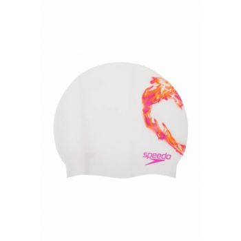 Slogan Printed Swim Cap
