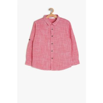 Red Boy's Shirt 9YKB66162TW