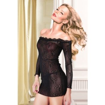 Lace Nightgown String Suit 001-018630