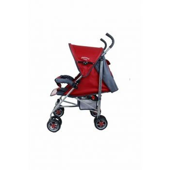 Baby P102 Full Mattress Cane Baby Carriage - Cane Pushchair - Raincoat Gifted 820315