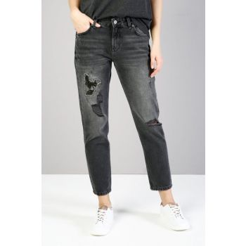 Women Slim Boyfriend Fit Jean 892 ALINA CL1036019